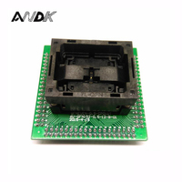 QFN Socket IC Test Adapter Pitch 0 5mm IC550 0324 007 G Programming Socket Size 5