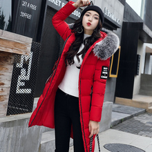 2017 Brand Ladies Winter Jacket Warm Women Duck Down Jacket for Women Coat Parka Plus Size Thick Fur Hooded Long Female Jacket
