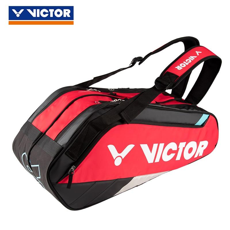 2019 Victor Badminton Bag Brand Tennis Gym Backpack Tennis Badminton Bag For 12 Pieces Of Equipment Sport Bag