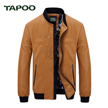 TAPOO 2017 New winter Bomber Jackets Men Army Outerwear tactical jackets mens cotton thick fur collar warm coats 822