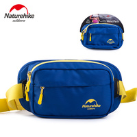 NatureHike Waist Bag Multifuction Running Cycling Cell Phone Waterproof Purse Men Bag Bag For Male Navy