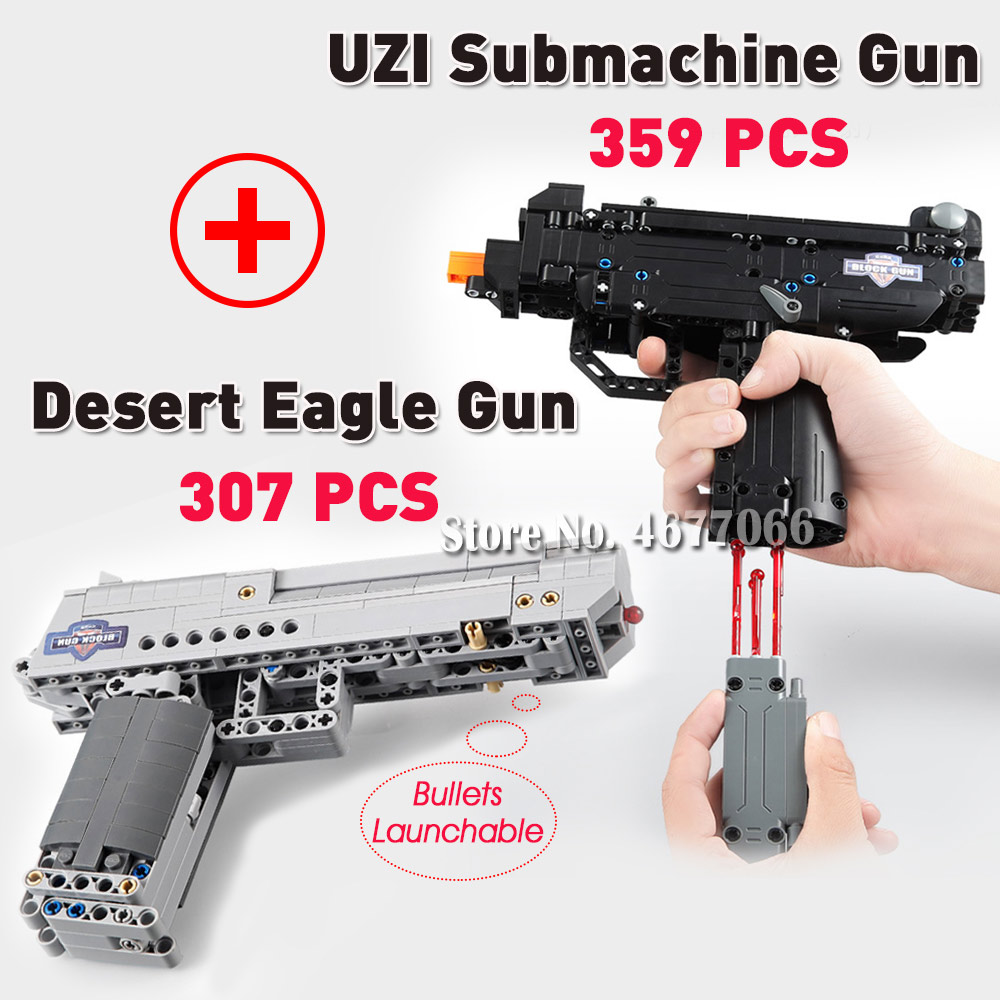 UZI and DE - 666 PCS