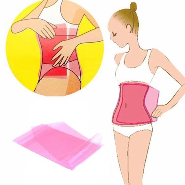 Reusable Slimming Fat Burner Belt Wrap Anti Cellulite Waist Belly Shaper Weight Loss Products Women Beauty Sauna Massager 1