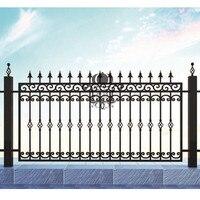 Hench 100% feito à mão forjou projetos personalizados barato quintal esgrima de alumínio