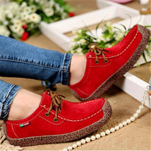 Fashion Wild Lace-up Women Flats Comfortable Footwear Summer Loafers Wo