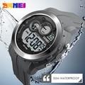 SKMEI Мужчины Мода Цифровые Наручные Спортивные Часы Водонепроницаемые Военный Людей Верхнего Качества Horloge Orologio Uomo Montre Homme