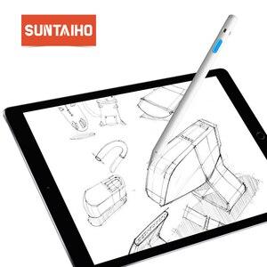 Suntaiho dla apple ołówek rysik aktywny uniwersalny pojemnościowy ekran dotykowy urządzenia dla iPhone iPad Tablet Huawei Xiaomi