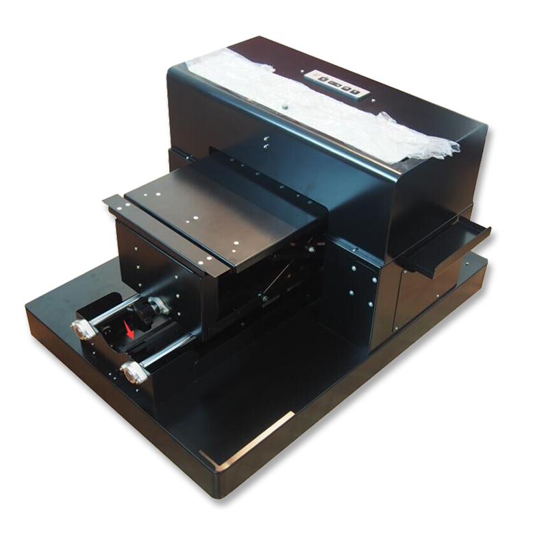 2017 <font><b>A3</b></font> Flatbed T-shirt Printer for Epson R2000 Flatbed Machine for Printing PVC Phone Case Wood Glass and Acrylic Hot Sales