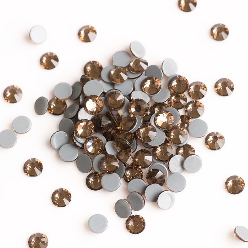 2058HF uzené topazové kamínky všech velikostí pro oděvní - Umění, řemesla a šití