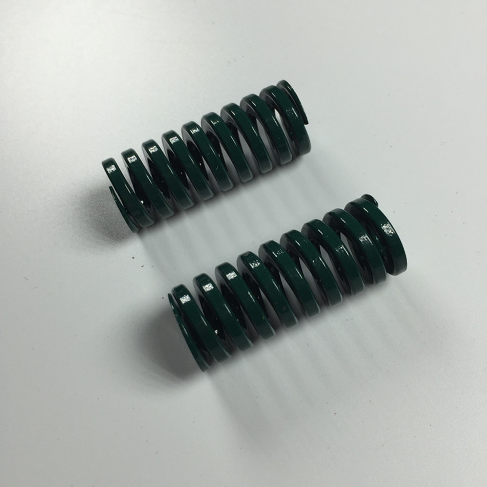 2Pcs Green Spiral Stamping Compression Die Spring 16 X 8 X25/35/55/65/75/85/90mm