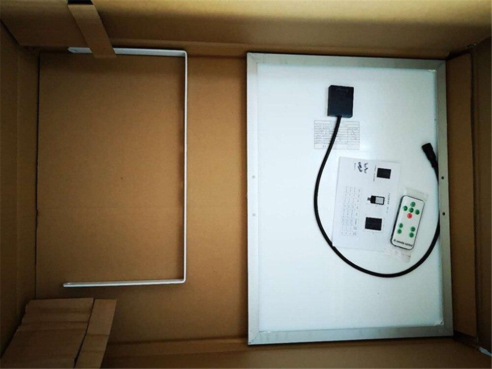w solar led lâmpada de parede ao