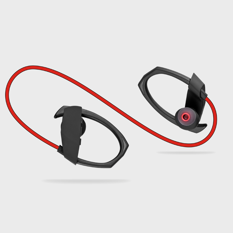 HAPPYBATE Bluetooth Earbuds M1 Wireless Waterproof Headphones Ear Buds Earphones Headset with Mic for Running Sport Noise Cancel