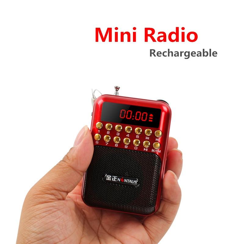 מפעל מחיר 872 נייד מיני FM רדיו TF כרטיס u-דיסק MP3 נגן עם 2200 mah Recharger סוללה LED מסך גדול נפח רדיו