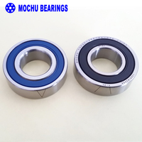 1 Pair MOCHU 7002 7002C 2RZ P4 DT 15x32x9 15x32x18 Sealed Angular Contact Bearings Speed Spindle