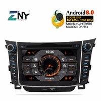 7 HD Android 8.0 Car DVD For Hyundai I30 Elantra GT 2012 2013 2014 2015 2016 Auto Radio FM GPS WiFi Audio Video Backup Camera