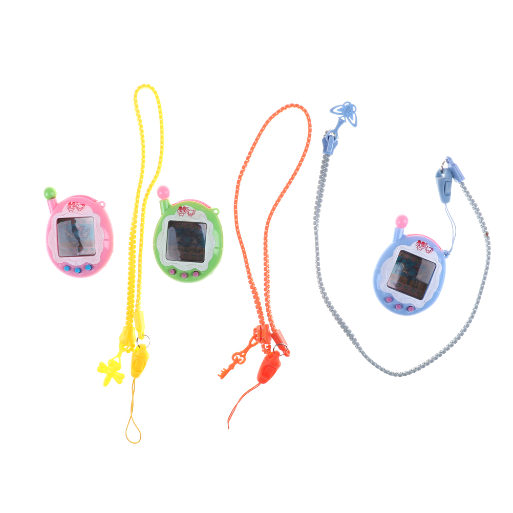 1PC Virtual Cyber Digital Pets Electronic Tamagochi Pets Retro Game Funny Toys Handheld Game Machine Gift For Kids High Quality
