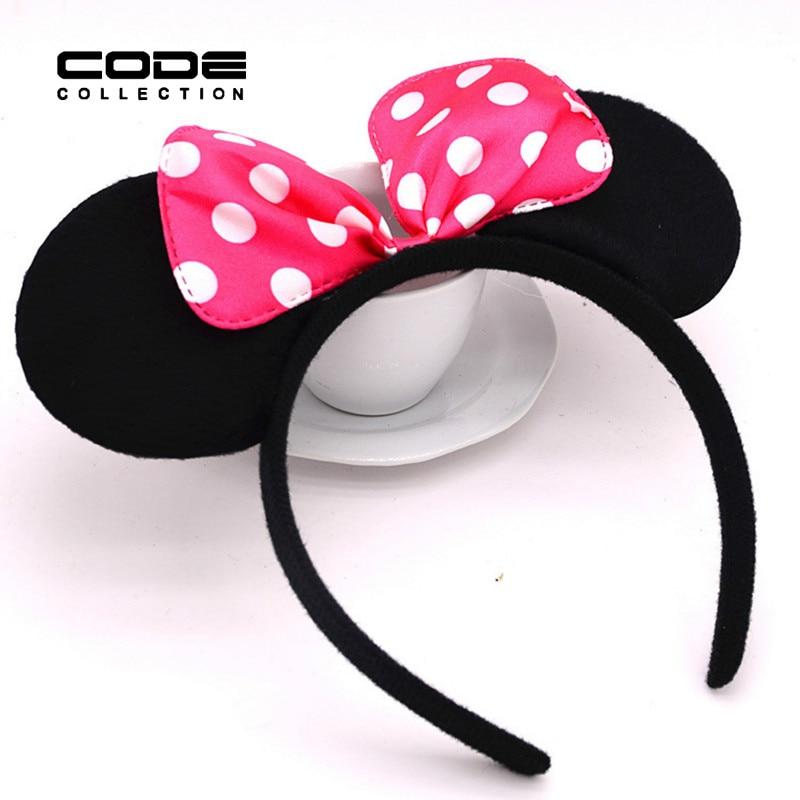 Free Shipping Red Bowknot Hairpin Jewelry BrandJewellry Headdress Popular Headband Pink Bow Tiara Hair Accessories AA5