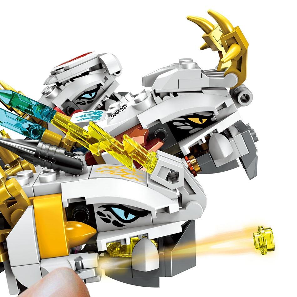 Image 5 - 1100 шт. маленькие строительные блоки игрушки, совместимые с Legoe Ninja ультра дракон подарок для девочек мальчиков детей DIY-in Блоки from Игрушки и хобби