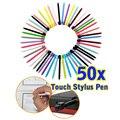 50 unids/pack 8.5 cm muti-color Touch Stylus Pen Para Nintendo DS Lite L3EF