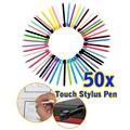 50pcs/pack 8.5cm Muti-color Touch Stylus Pen For Nintendo DS Lite L3EF