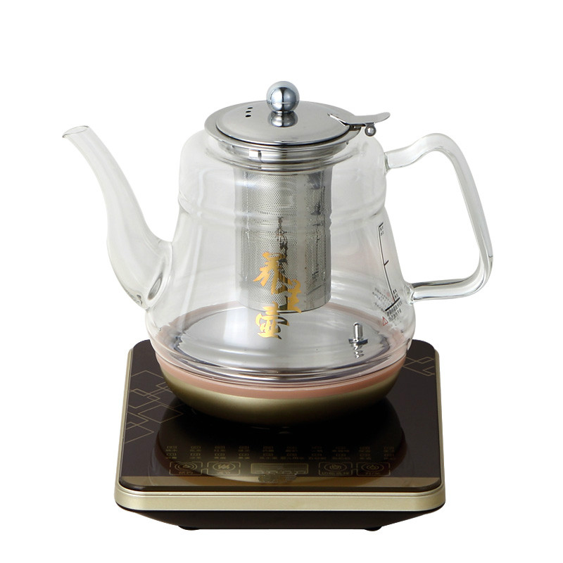 Electric kettle glass health boiler pot boiling tea heater to heat the household electric kettle health cup mini health pot full of glass electric hot office brew