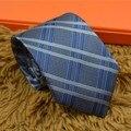 Высокое качество 2017 шелковый галстук H бизнес случайный участник мужской подарок на день рождения бесплатная доставка