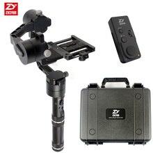 Zhiyun кран Ручной Стабилизатор Gimbal с случае ZW-B02/ZW-B01 пульт дистанционного управления для DSLR камер Canon Поддержка 1.8 кг
