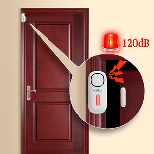 Image 2 - Беспроводная система охранной сигнализации KERUI, 120 дБ, с датчиком защиты дверей и окон, с дистанционным управлением