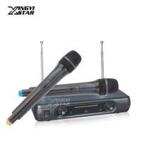 Microfono Inalambrico Professional Handheld Dynamic Mic Wireless Microphone System Mike For PC Karaoke Mixer Microfone Sem Fio