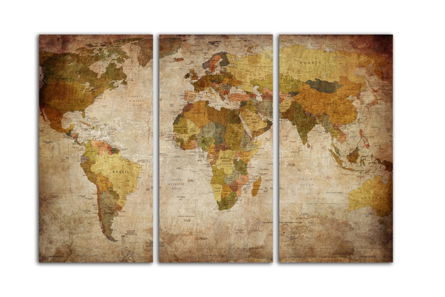 Free shipping hd print clear world map template on canvas for office free shipping hd print clear world map template on canvas for office living room home decoration gumiabroncs Choice Image