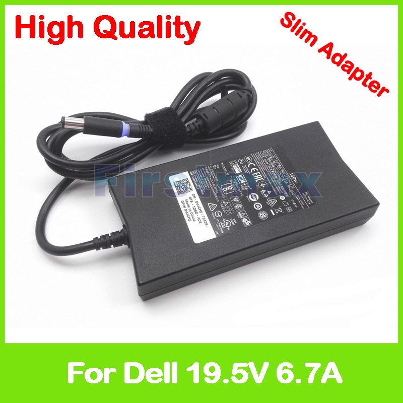 19.5V 6.7A AC power adapter PA-1131-28D PA-13 PA-4E FA130PE1-00 laptop charger for Dell Inspiron 15 7566 7567 Inspiron XPS Gen 2 120w ac power adapter charger for hp ppp016l e pa 1121 42hq ppp016c ppp016h pc charger 18 5v 6 5a
