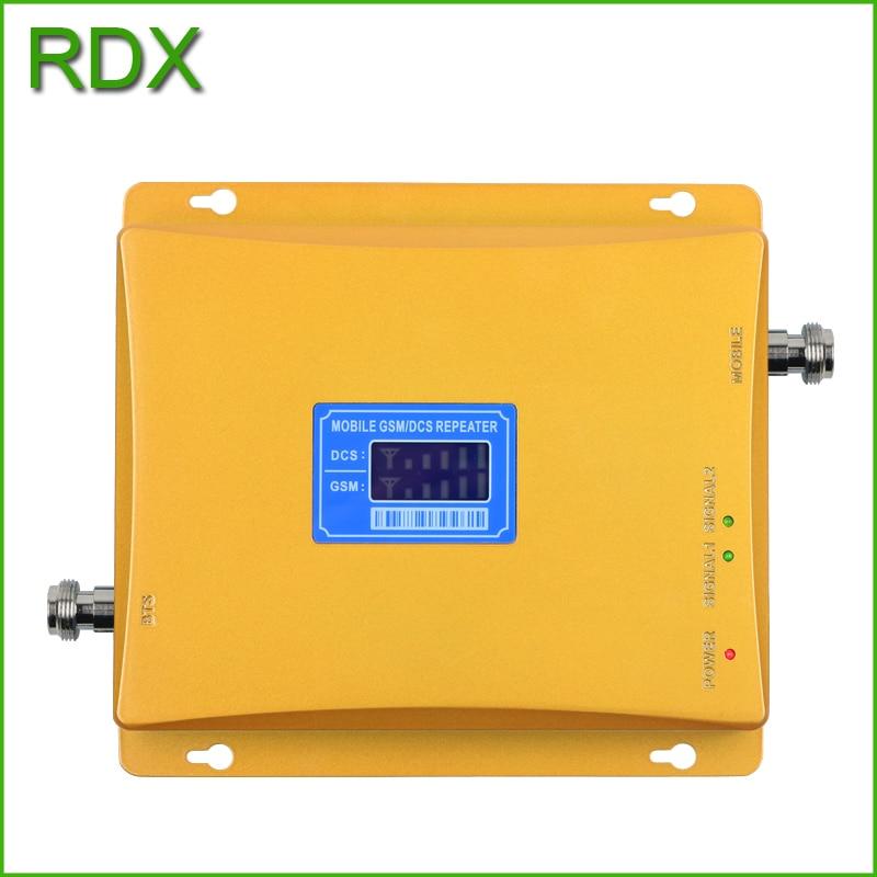 Pour 2 pièces à gain élevé 65 dB nouvelle double bande gsm 900 mhz 4G dcs 1800 mhz pour amplificateur répéteur de signal de téléphone portable en gros - 6