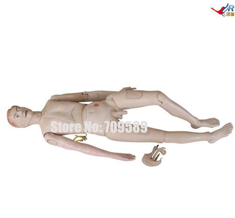 New Style High Quality Nurse Training Doll (Male), Nursing Manikin bix h2400 advanced full function nursing training manikin with blood pressure measure w194