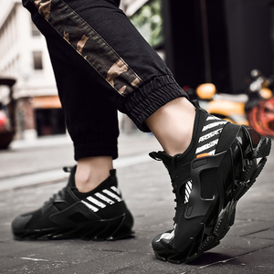 Image 5 - 2019 plus size 39 46 men sneakers Comfortable adult designer lightweight fashion Breathable summer trainers men shoes #ABG72