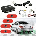 3sets Original Style 4-Sensor Car Video Rearview Visual Parking Sensor Backup Radar System  #CA4750