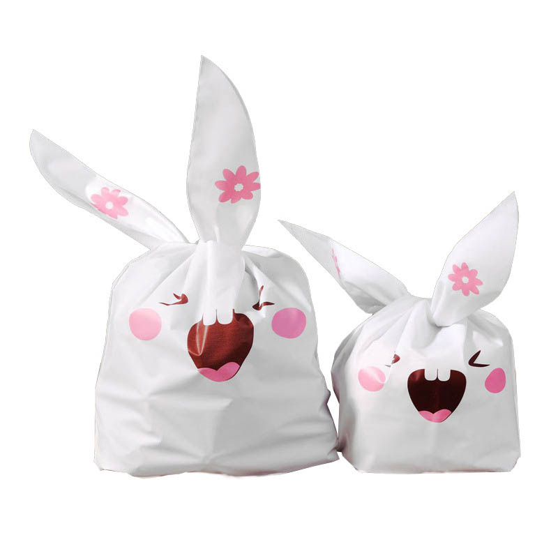 20 PCS/lot rabbit ear paper gift bag packaging for cookies