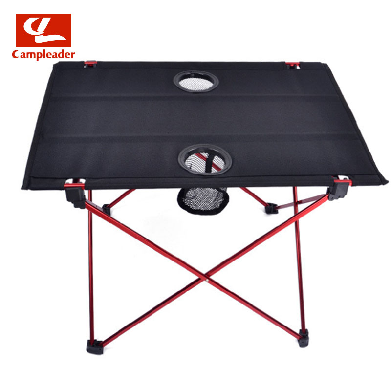 Campleader Foldable Folding Table Desk Camping Outdoor Picnic 6061 Aluminium Alloy Ultra-light Outdoor furniture Table CL039 portable foldable folding table desk furniture outdoor picnic aluminium alloy table outdoor table free shipping