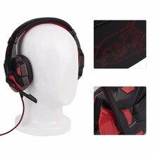 Longitud Ajustable Bisagras 3.5mm Surround Gaming Stereo Gaming Headset Auricular de La Venda con el Mic para PC 3 Color Para La Opción