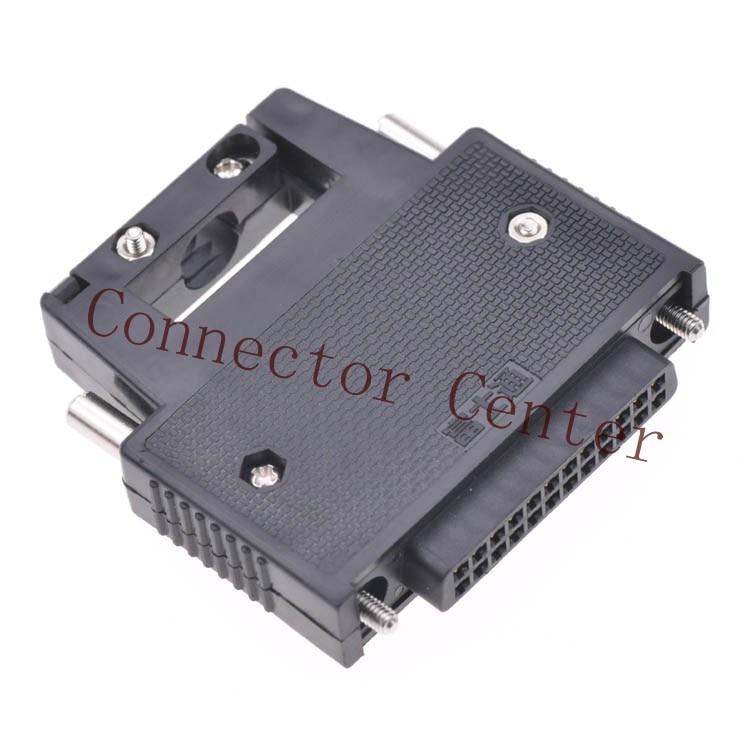Connector 24PIN For Mitsubish omron PLC I O Connector Fujitsu FCN 360C024 B FCN 361J024