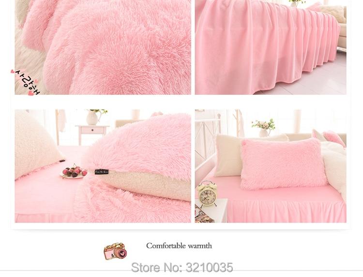 HTB1VRN mIbI8KJjy1zdq6ze1VXaj - Velvet Mink or Flannel 6 Piece Bed Set, For 5 Bed Sizes, Many Colors, Quality Material