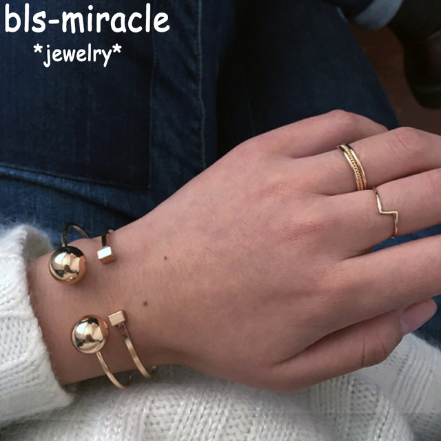 Bls-miracle Top New Fashion Jewelry Mix Color Copper Great Ball Alloy Opening Ba