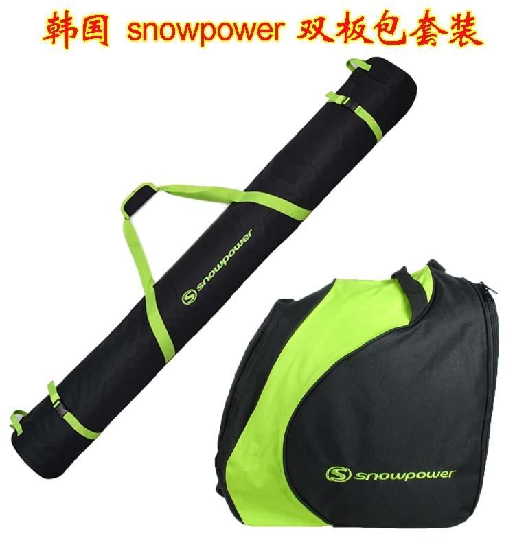 Snow impetus  Korean double board ski package ski suit snow shoe bag kit bag snow w15082122494