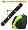""""""" Snow impulso """" pacote coreano dupla placa de esqui terno de esqui de neve saco de sapatos saco kit"""