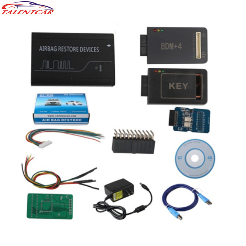 imágenes para Alta Calidad V3.9 CG100 PROG III Dispositivos incluyendo Todas Las Funciones de Renesas SRS Airbag Restablecer Envío Libre de DHL