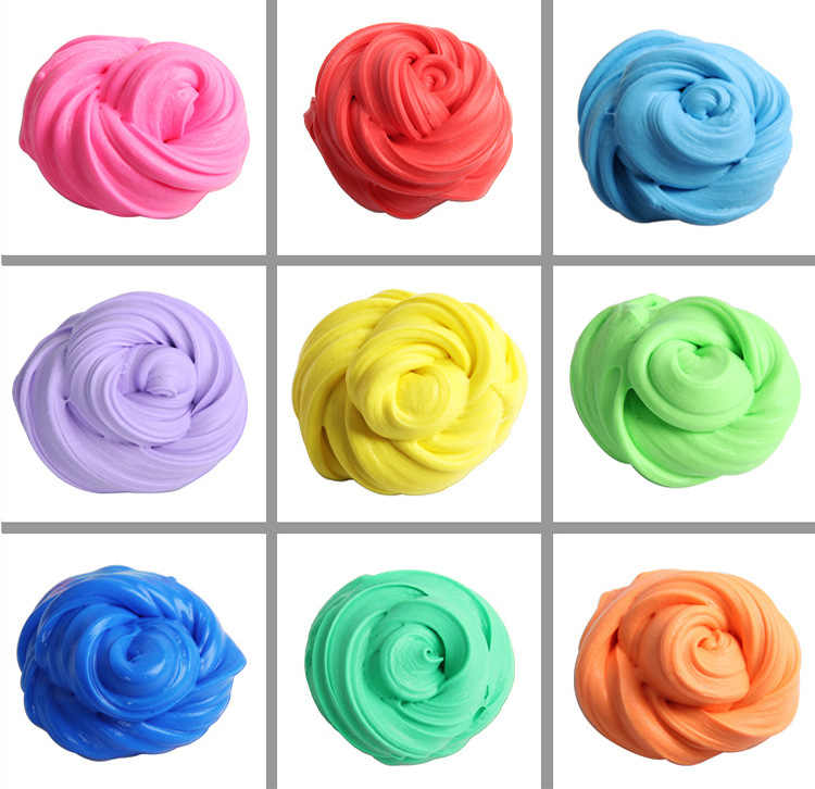 Retail Slime/Clay Slime Air Dry Playdough Light Soft Modeling Fimo Polymer Clay Jumping DIY Plasticine Educational 2019 Play Toy