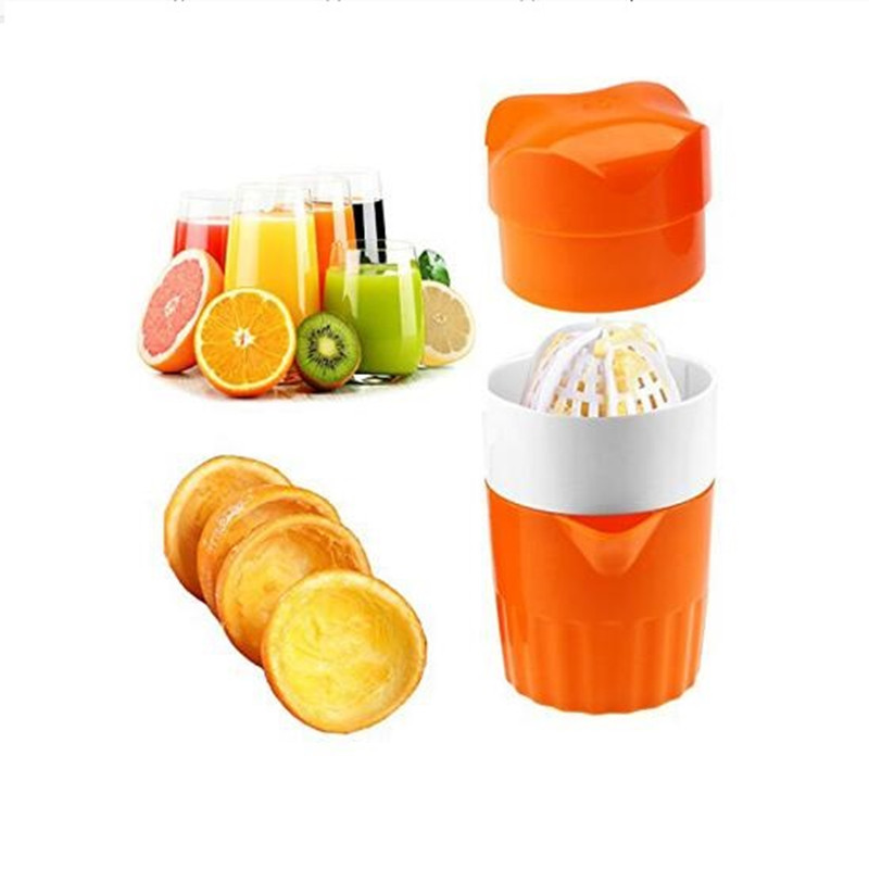 High Quality Mini Lemon Juicer Portable Handheld Lemon Orange Fruit Citrus Squeezer Easy Operation 100% Original Juice  Maker