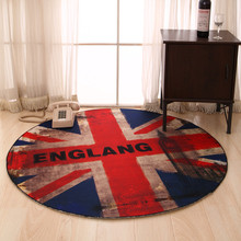 Retro Flag Carpets For Living Room Home Bedroom Rugs And Carpets Europe Polyester Coffee Table Area Rug Kids Play Mat
