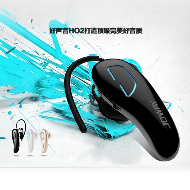 Original bluetooth h02 joway uso cómodo fone de ouvido auricular inalámbrico de auriculares con micrófono para iphone samsung # ed