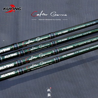 KUYING CULTER GAME 2.28m 2.37m 2.46m 2.49m Spinning Casting Fishing Lure Rod Fish Cane Stick Pole Carbon Medium light hard