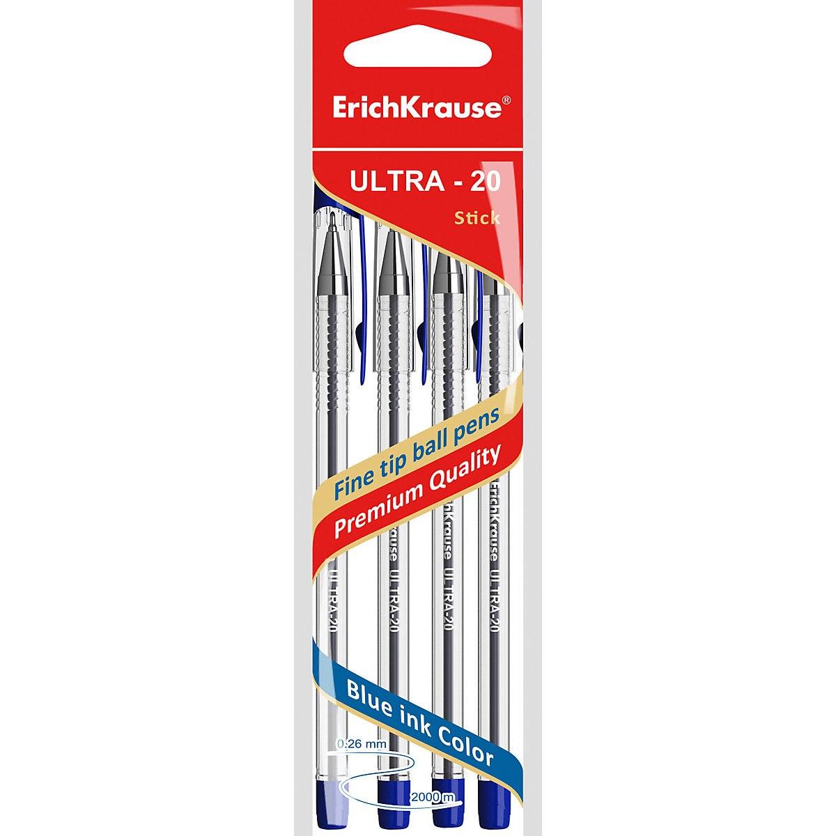 ERICHKRAUSE Pen Grips 11174003 Pens ball the gel pencils writing supplies MTpromo 6pcs ball game props body paint pen